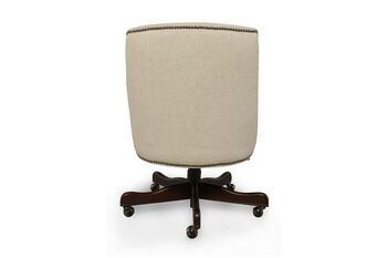 Bradington Young Chateau Linen Executive Chair