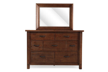 Ashley Tamilo Dresser and Mirror