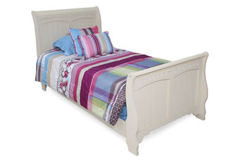 Ashley Full Sleigh Bed with Rails