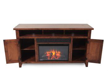 Aspen Alder Creek 63 Inch Fireplace Console