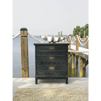 Stanley Coastal Living Resort Stormy Night Cape Comber Chairside Chest