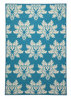 Ashley Lia Turquoise Medium Rug