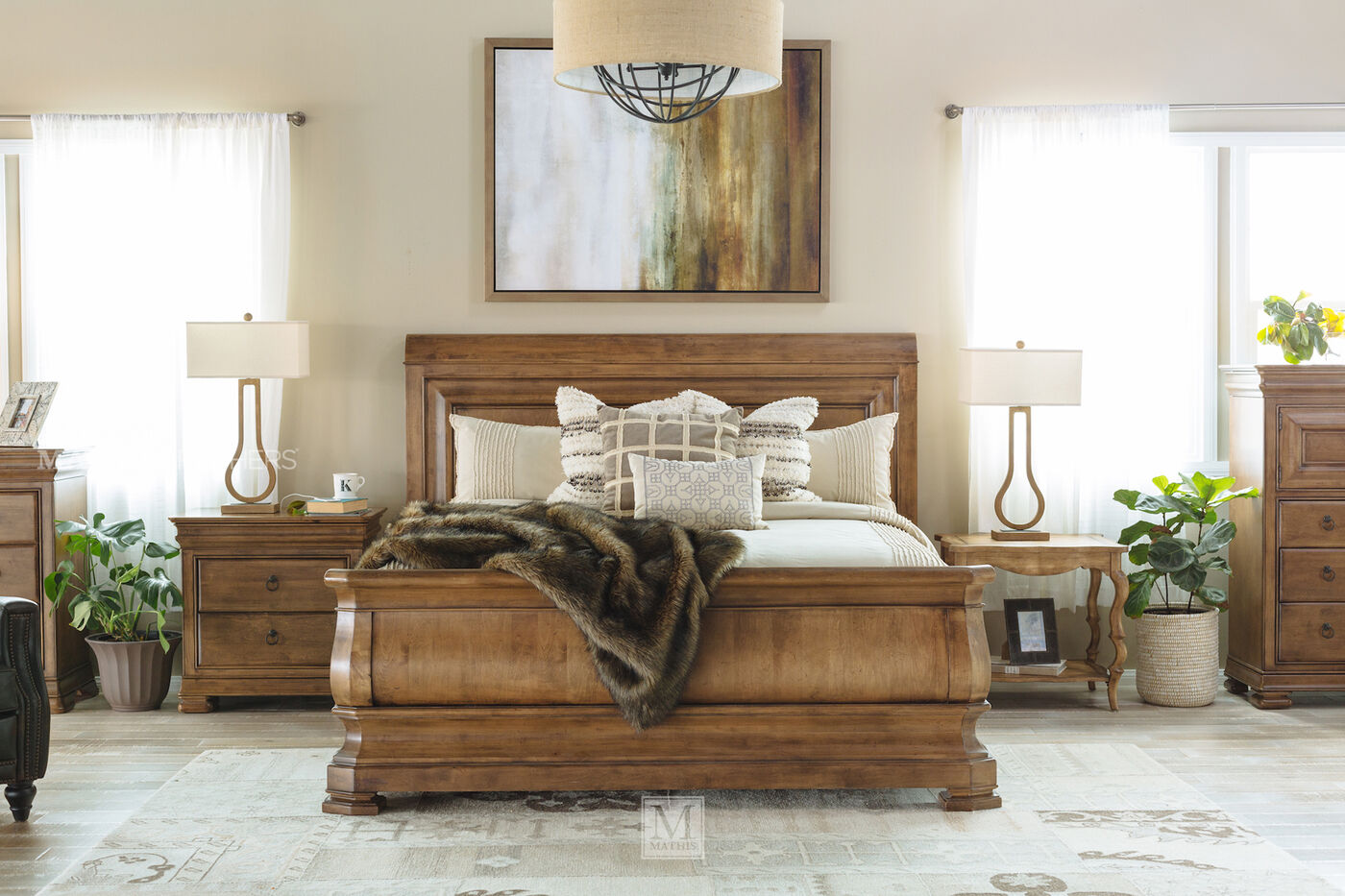 Universal Pennsylvania House New Lou Brown Nightstand | Mathis ...
