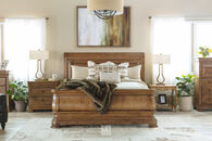 Universal Pennsylvania House New Lou King Sleigh Bed