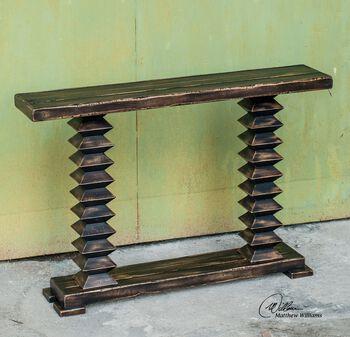 Uttermost Ridge Wooden Console Table