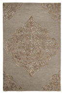 Ashley Zavier Taupe Medium Rug