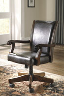 Ashley Alymere Rustic Brown Home Office Swivel Desk Chair
