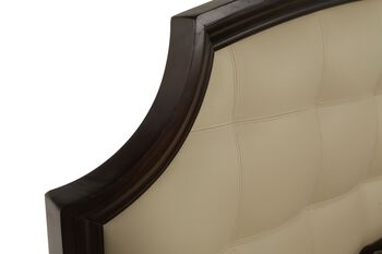 A.R.T. Furniture Intrigue Leather Panel Bed