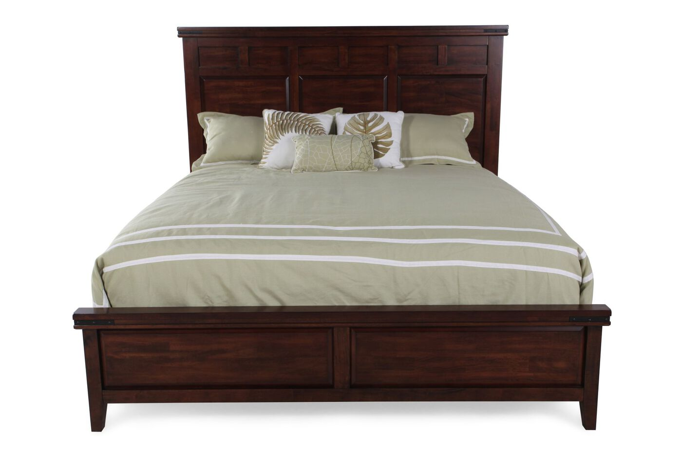 Mango Bedroom Furniture Winners Only Mango Panel Bed Mathis Brothers Furniture