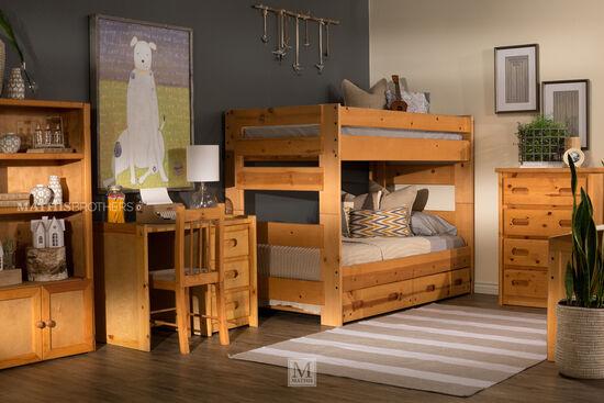 Trendwood Palomino Cinnamon Universal Bookcase