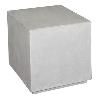 Uttermost Zaire Industrial Cube Table