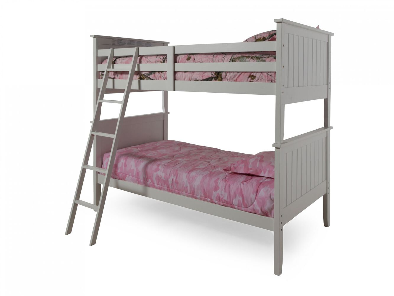 Ashley Lulu Twin Over Twin Bunk Bed Mathis Brothers