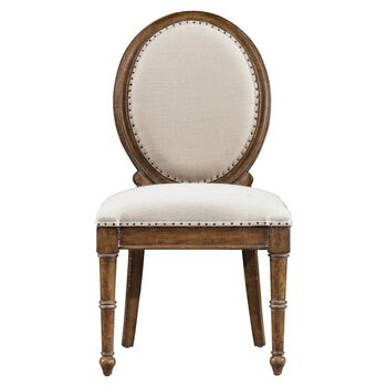 Stanley European Farmhouse Blond Million Stars Side Chair