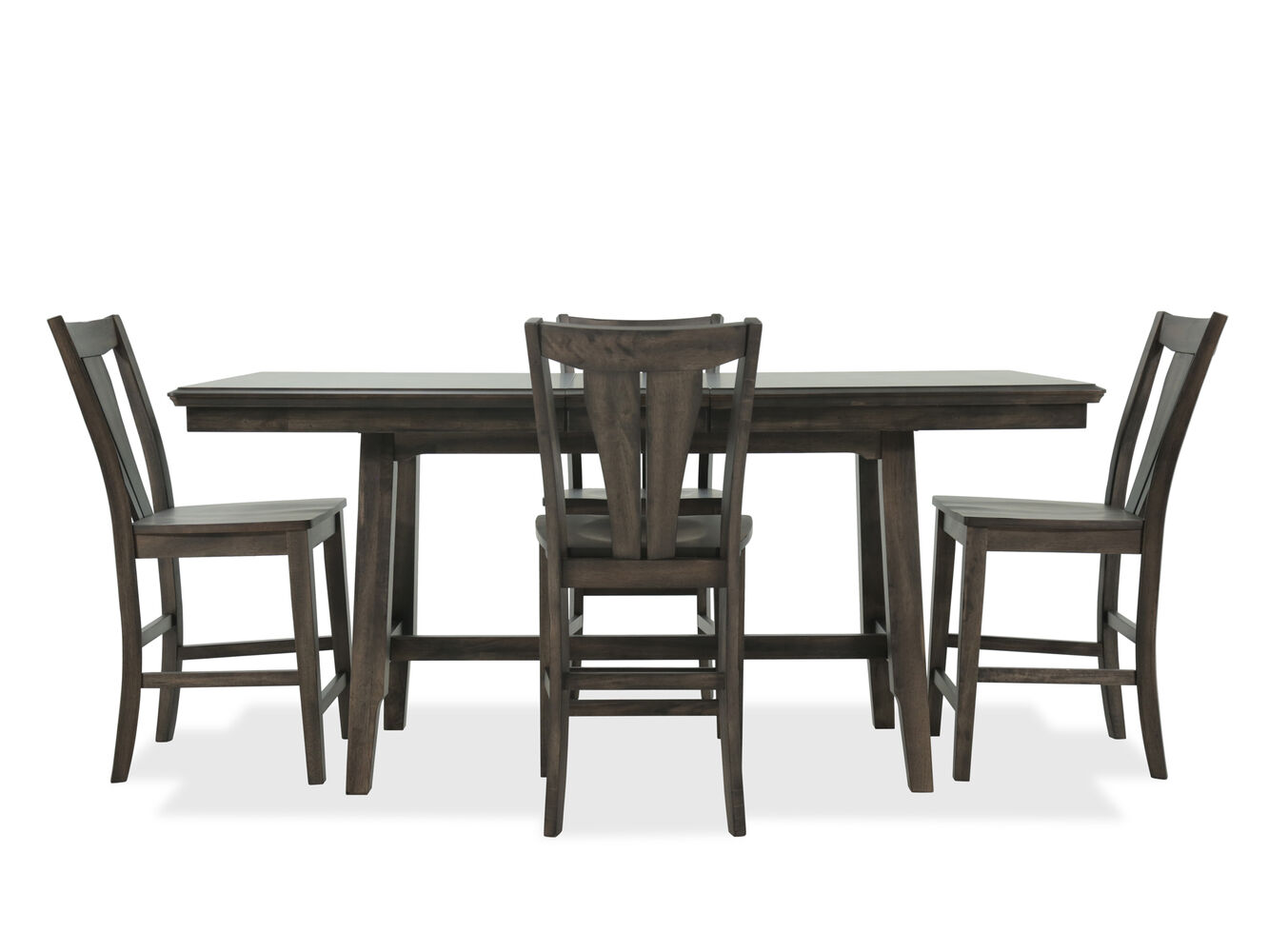 Winners Only Daphne Brown Five Piece Dining Set Mathis Brothers