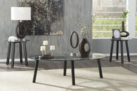 Ashley Iselle Black Occasional Table Set