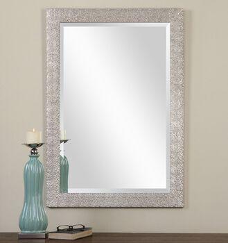 Uttermost Porcius Antiqued Silver Mirror