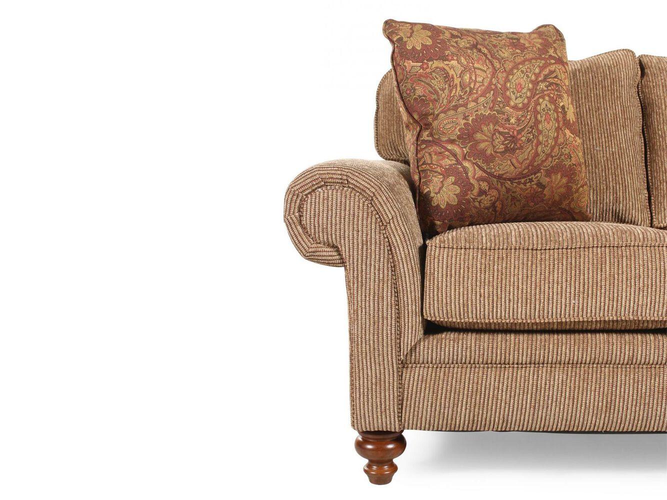 Broyhill larissa sofa mathis brothers furniture for Mathis brothers living room furniture