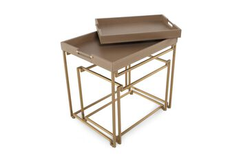 Caracole In/Out Box End Tables