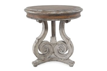 Hooker Chatelet Scroll Accent Table