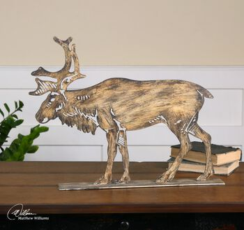 Uttermost Elk Sculpture