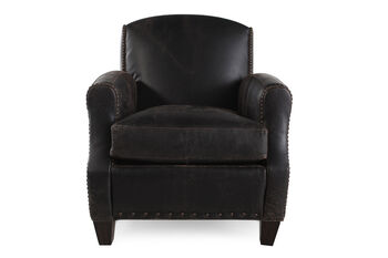 Rachlin Classics Mazzy Leather Chair