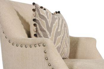 A.R.T. Furniture Amanda Ivory Swivel Chair