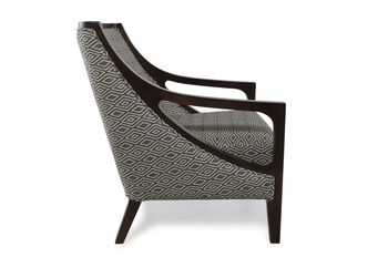 Boulevard Espresso Charcoal Chair