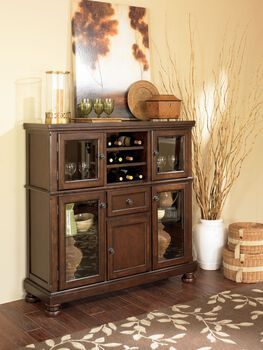 Ashley Porter Dining Server Mathis Brothers Furniture