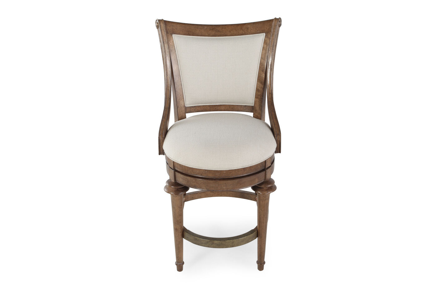 A r t furniture pavilion upholstered high dining chair for A r t dining room furniture