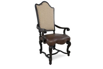 Universal Castella Upholstered Pair of Arm Chairs