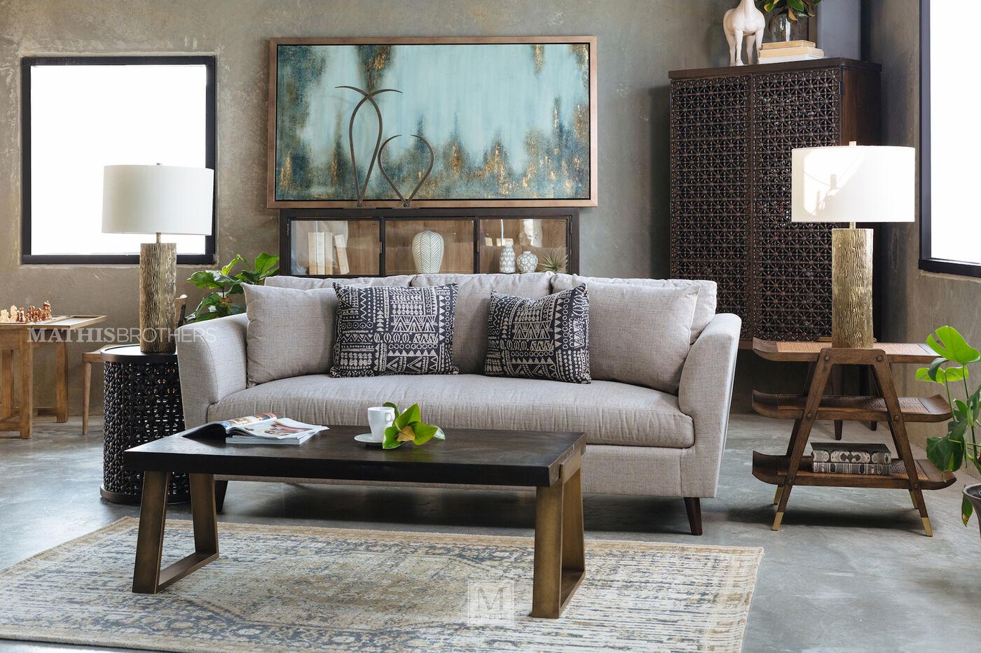 Thomasville Living Room Furniture Thomasville Ellen Degeneres Holmby Sofa Mathis Brothers Furniture