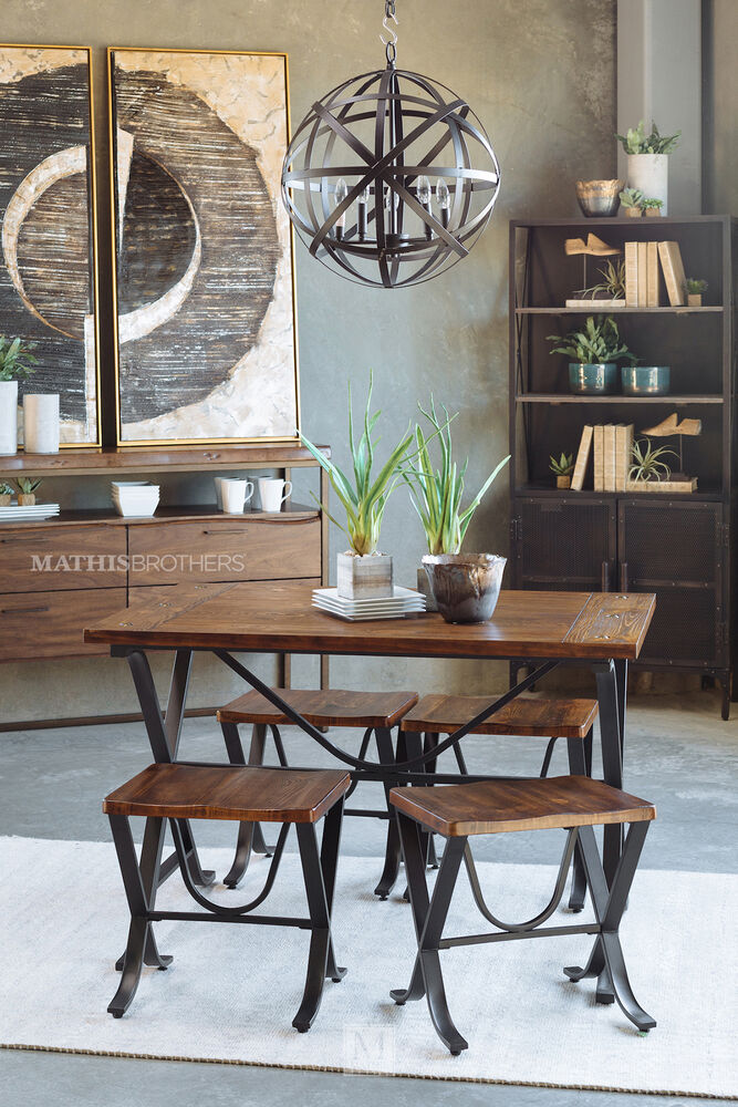 Ashley Furniture Hyland 5 Piece Dining Set With: 5 Piece Dining Set By Ashley