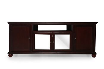 Aspen Casual Traditional 76 Inch Cherry Console