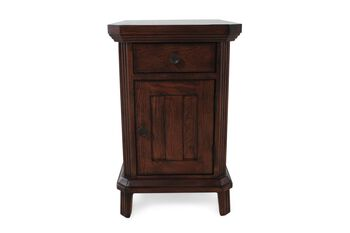 Broyhill Estes Park Chairside End Table Mathis Brothers