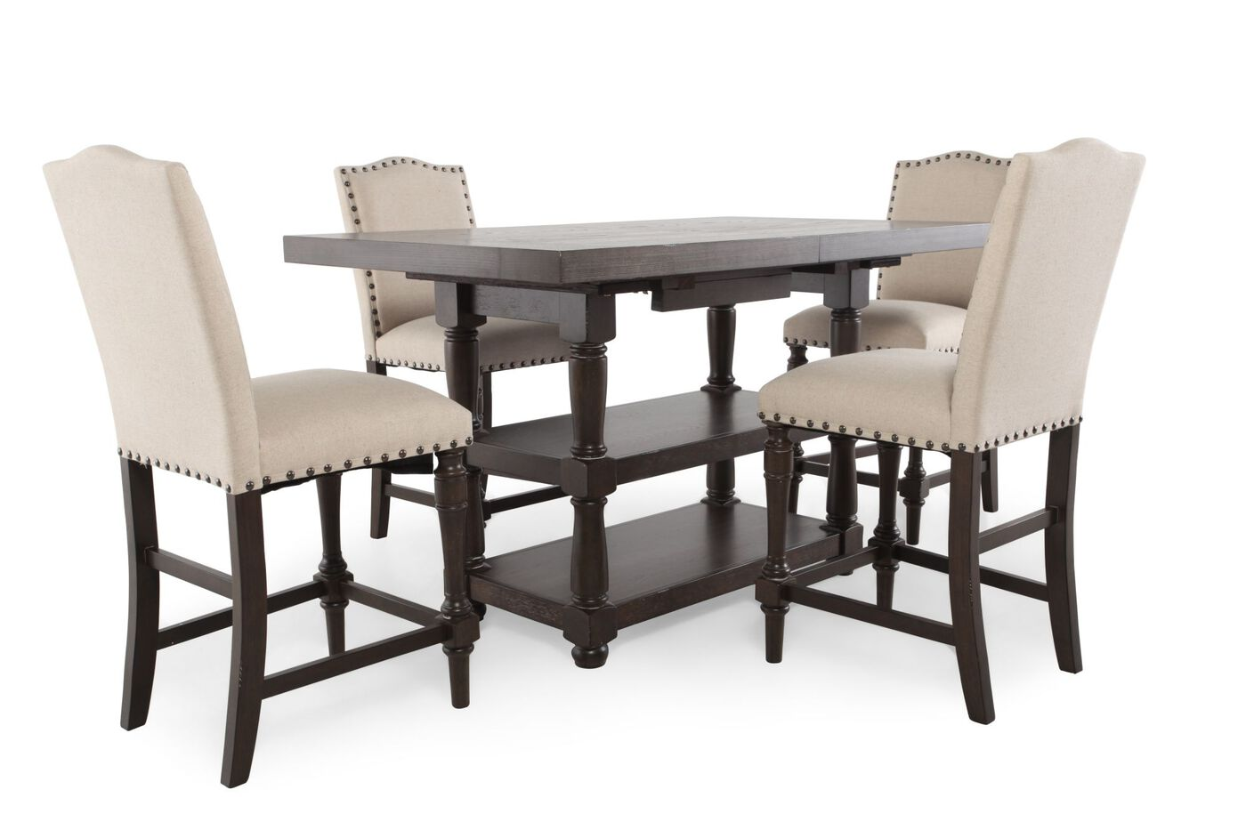 5 piece pub set by winners only mathis brothers for 2 piece dining room set