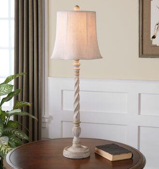 Uttermost Arcevia Aged Ivory Buffet Lamp