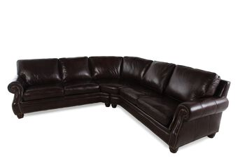 Henredon Two-Piece Leather Sectional