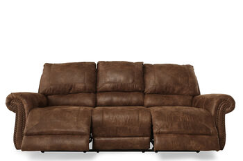Ashley Oberson Reclining Power Sofa Mathis Brothers
