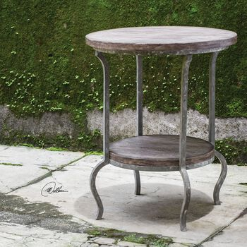 Uttermost Marcin Round Accent Table