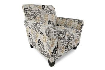 Ashley Makonnen Charcoal Accent Chair