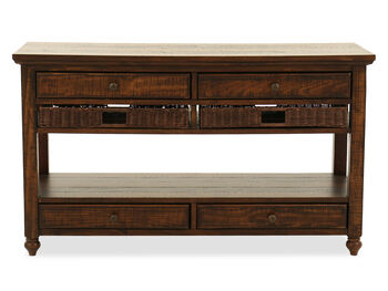 Magnussen Home Cottage Lane Sofa Table