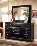 Ashley Shay Dresser and Mirror