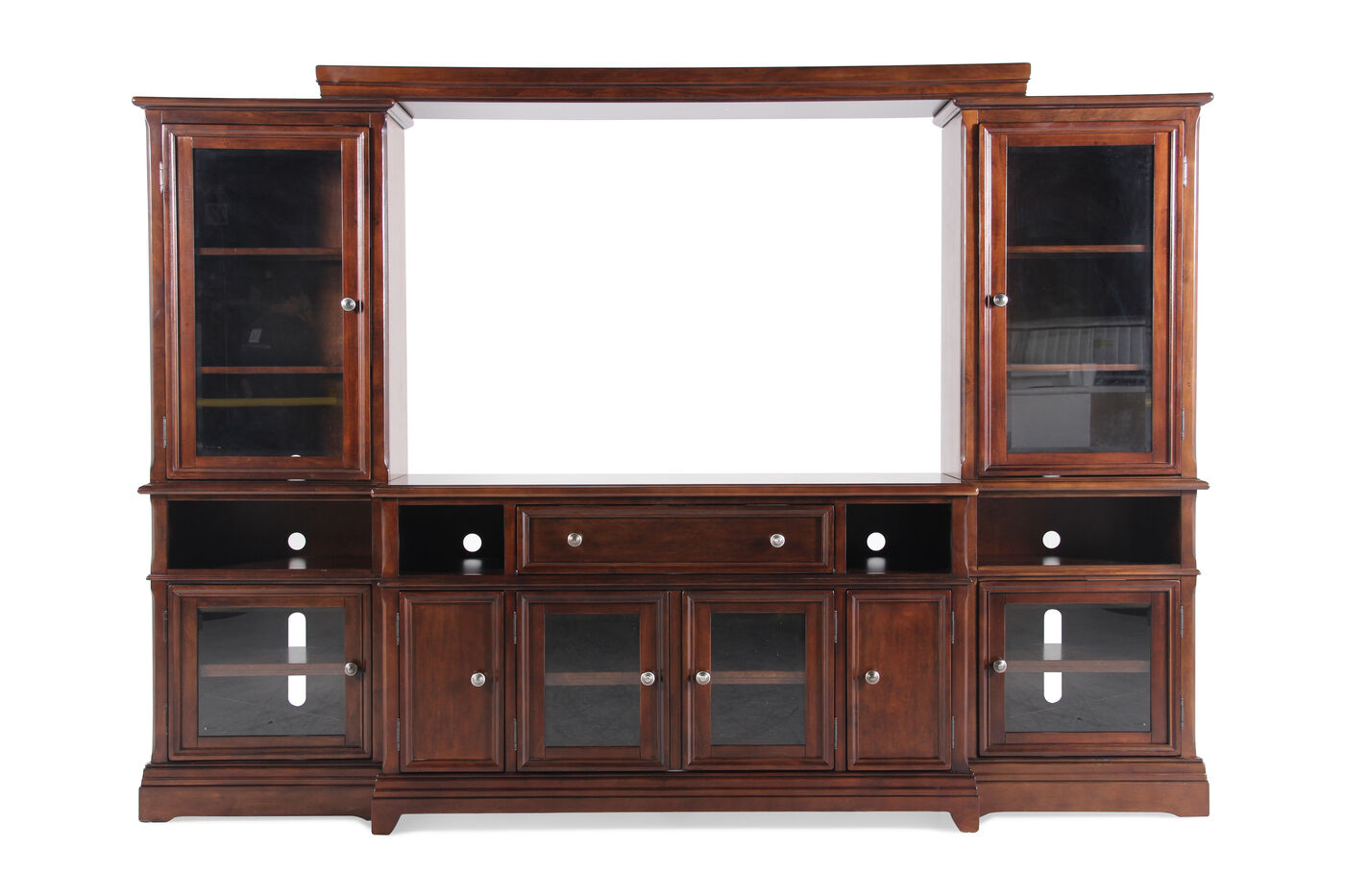 Ashley Lavidor Four Piece Wall Unit Mathis Brothers Furniture