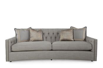 Bernhardt candace sofa mathis brothers furniture for Sofa bed 91762