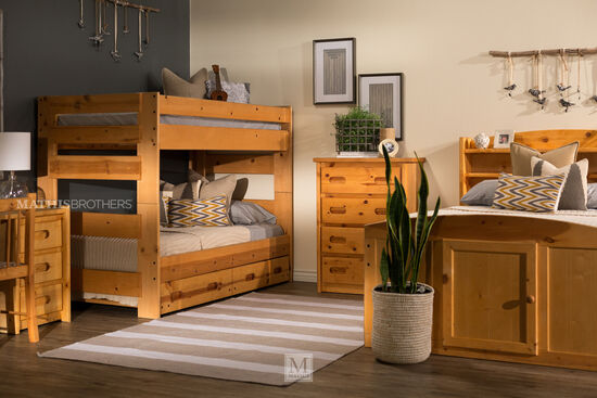 Trendwood Palomino Cinnamon Captains Bed Mathis Brothers