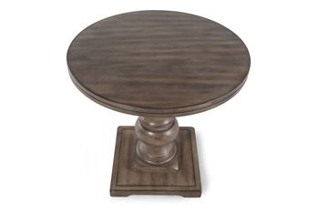 Ashley Light Round End Table