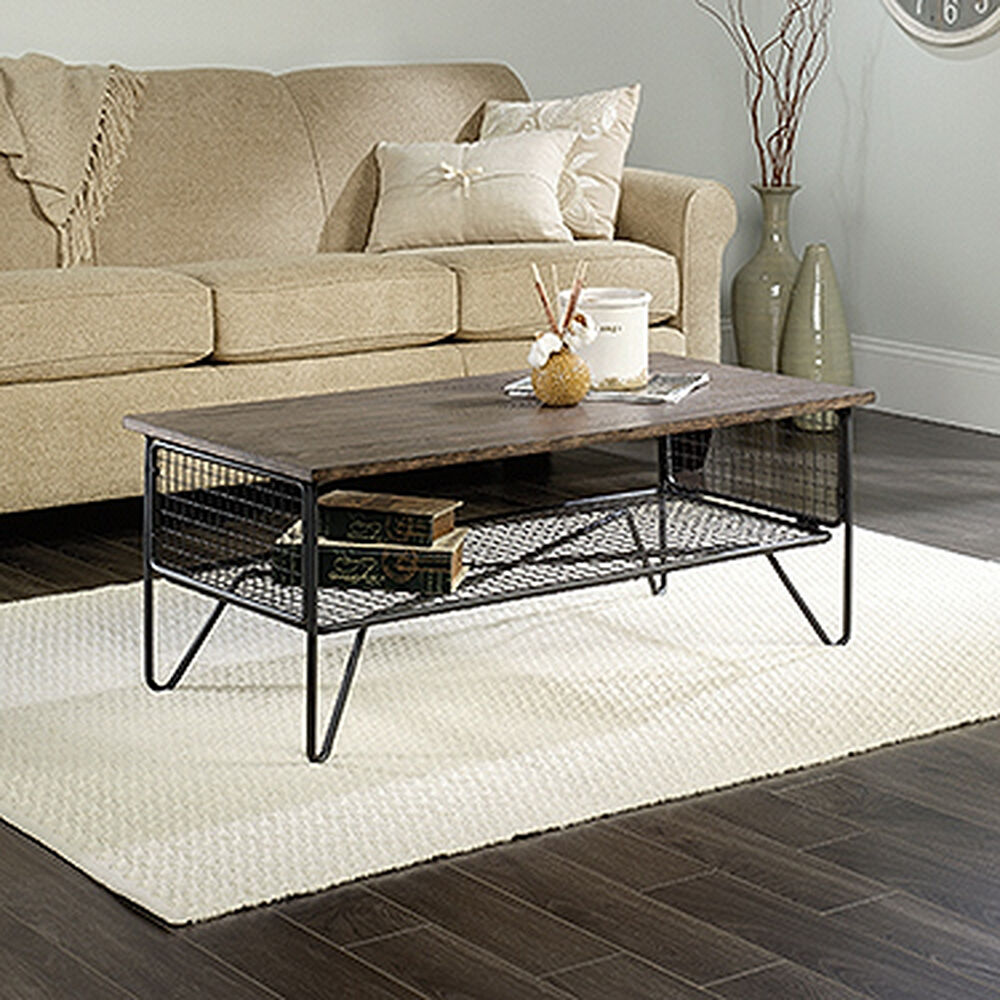 mb home high-street walnut coffee table | mathis brothers furniture