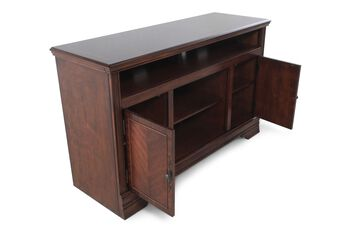 Ashley Hamlyn Console Mathis Brothers Furniture
