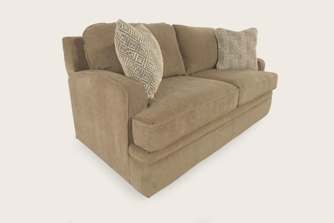 La z boy diana sesame full sleeper sofa mathis brothers for La z boy sectional sleeper sofa
