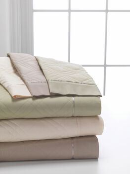 Dreamfit Quilted 5°/bamboo Twin Pale Sage Sheet Ensemble